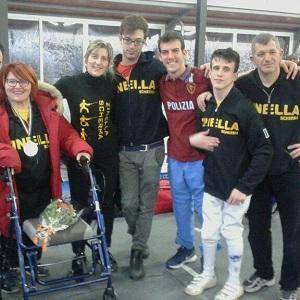 I super Zinelli alla prova integrata paralimpica e di cat. C a Roma